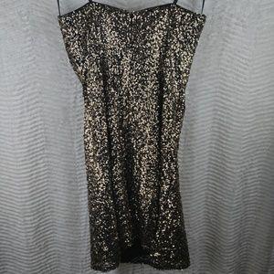 Alyce Paris Dresses - Alyce Paris Strapless Sequin Mini Cocktail Dress